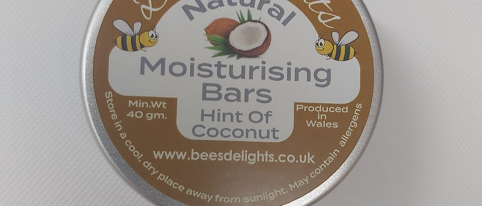Moisturising bars - Hint of Coconut 40g Bar