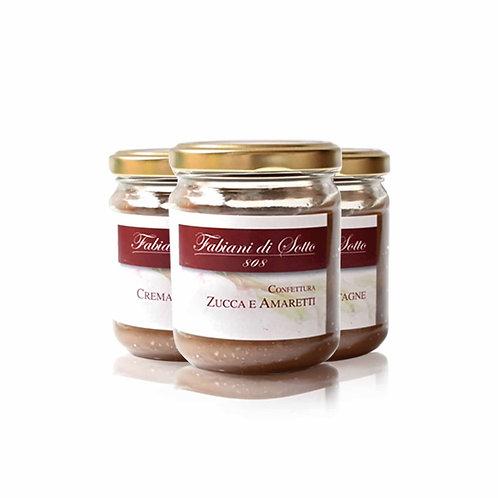 Marmelade Zucca é Amaretti