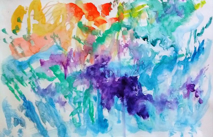 Irene Live painting