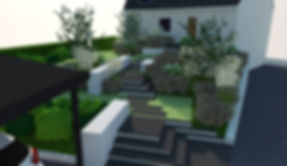 Plédran - jardin privé