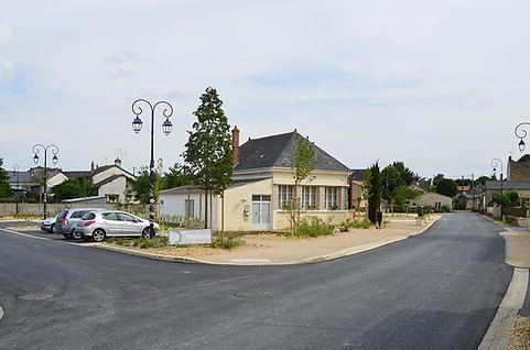 Brossay - aménagement du bourg