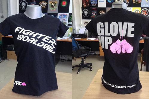 Womens Shirt Black - Glove up