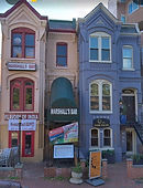 Neighborhood rowhouse restaurants