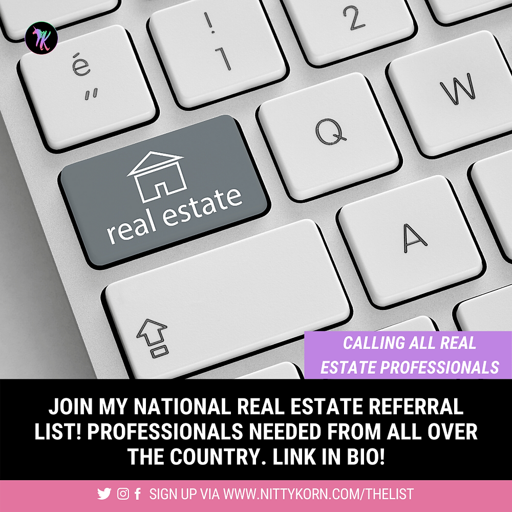real estate referral system to gain leads nationwide
