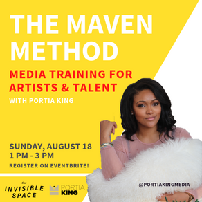 The Maven Method Training with Portia King