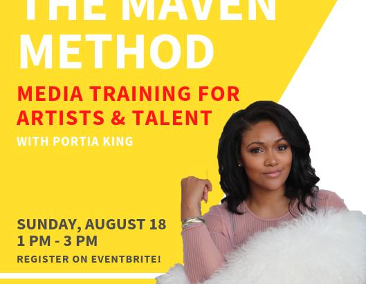 The Maven Method Training with Portia King