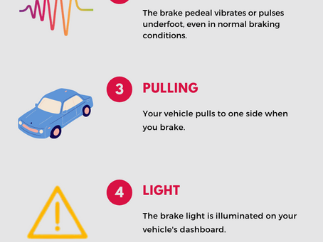 6 Brake Warning Signs to Look Out For