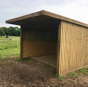 Bespoke Horse Field Shelter