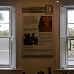 Restoring the Stained Glass Windows at Haslemere Museum