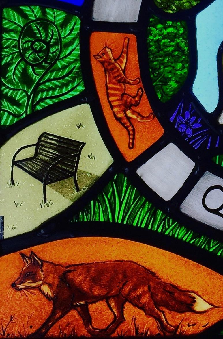 Detail of Quniotts Panel