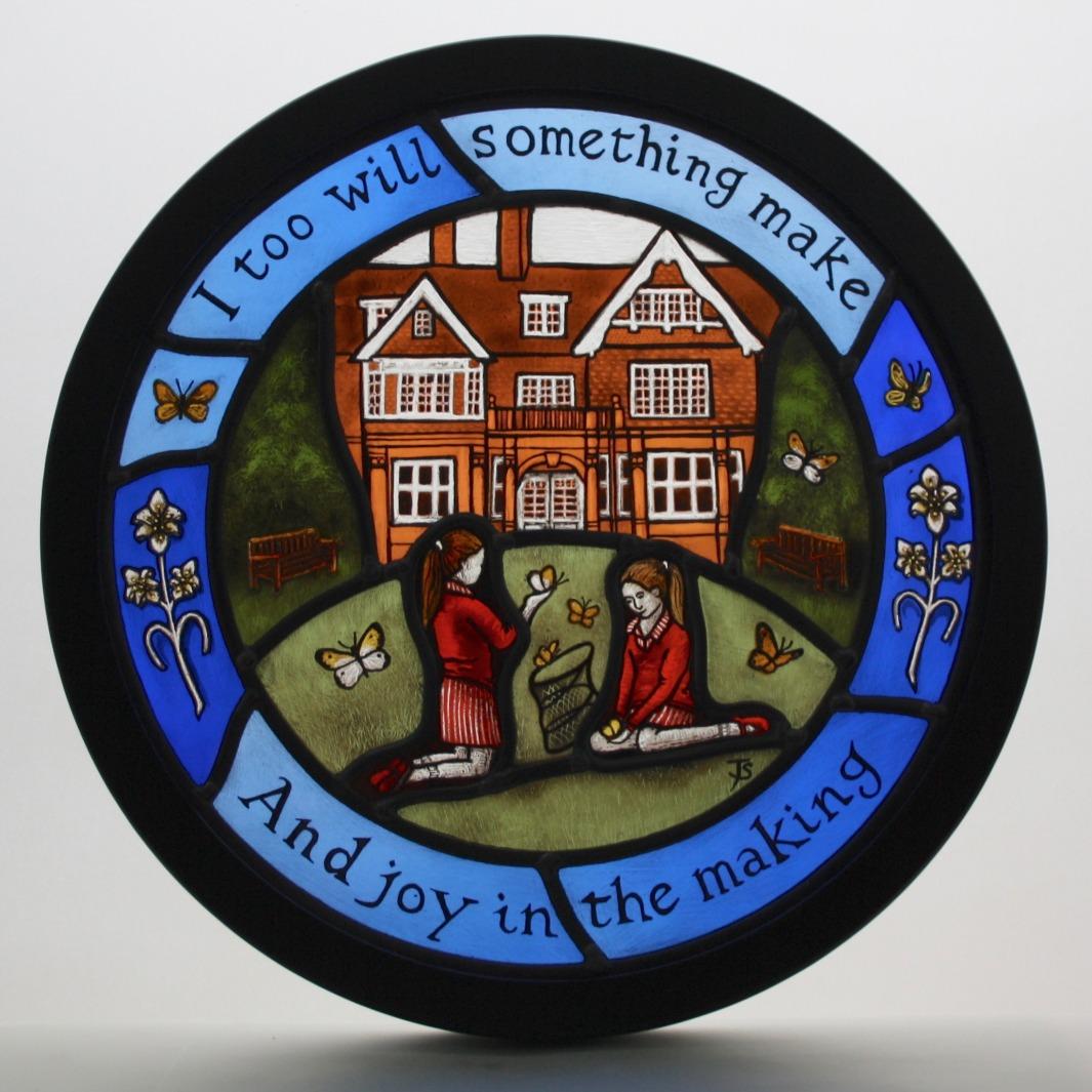 Commemorative Panel for Retired Headmist