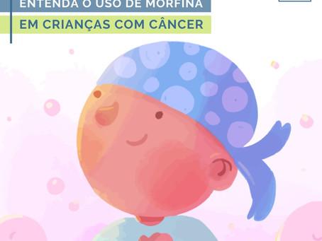 Entenda o uso de morfina em crianças com câncer