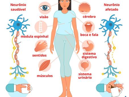 Dores da esclerose múltipla