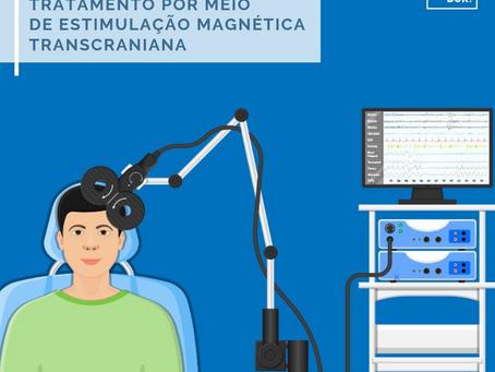 Tratamento por meio de Estimulação Magnética Transcraniana (EMT)