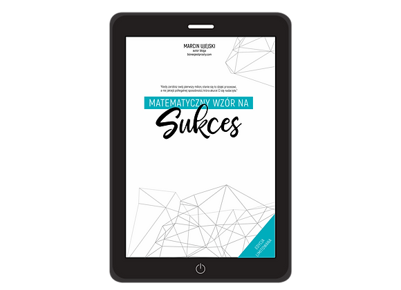 E-book Matematyczny wzór na Sukces