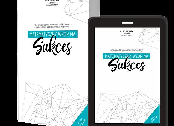 Pakiet Matematyczny wzór na Sukces Książka + E-book
