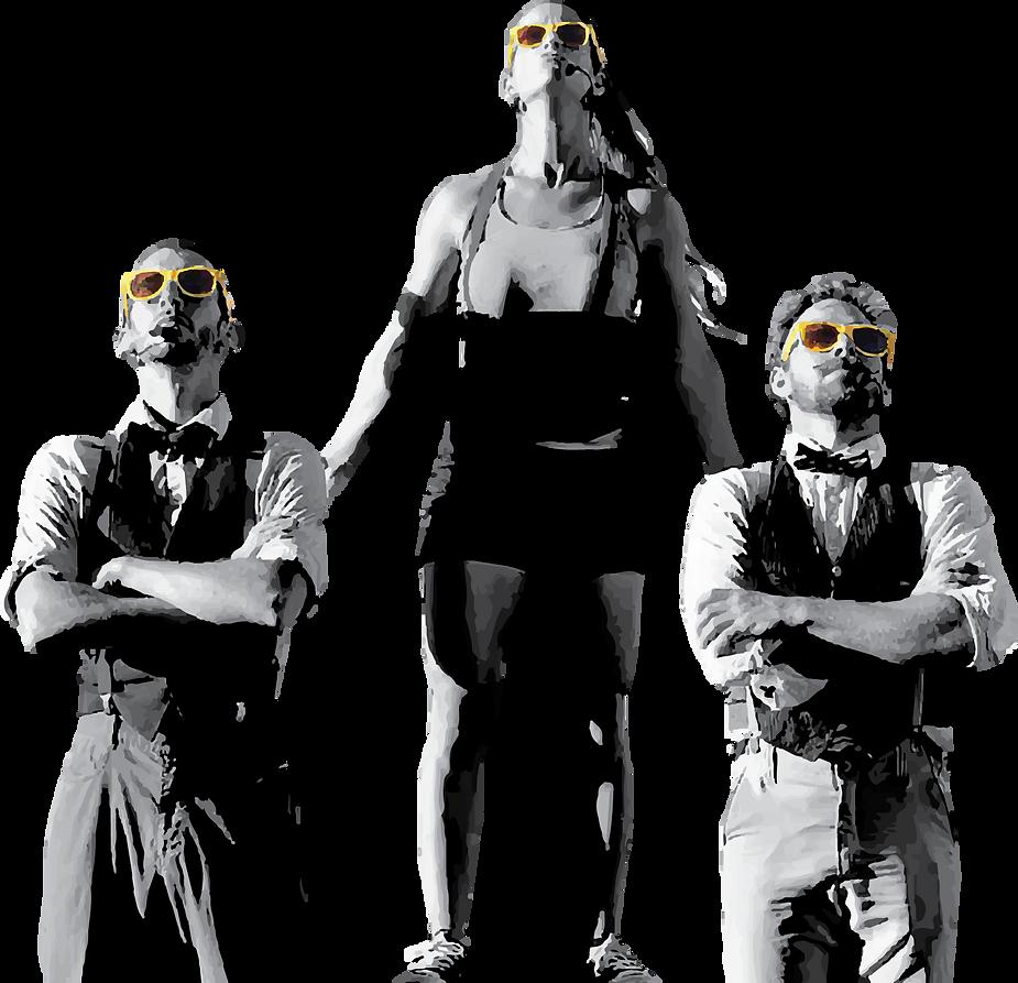 Les Échappés / The Suspenders - Trio