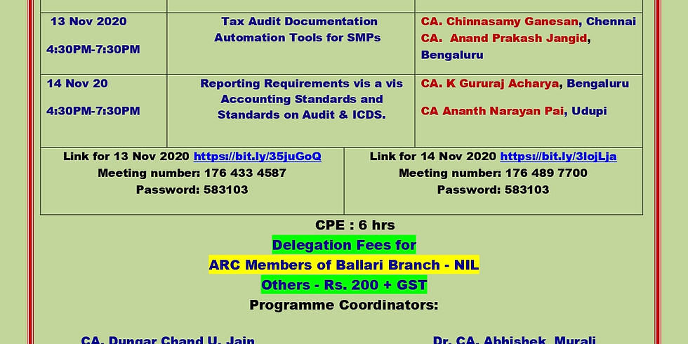 Two Day Sub-Regional Conference of SIRC of ICAI