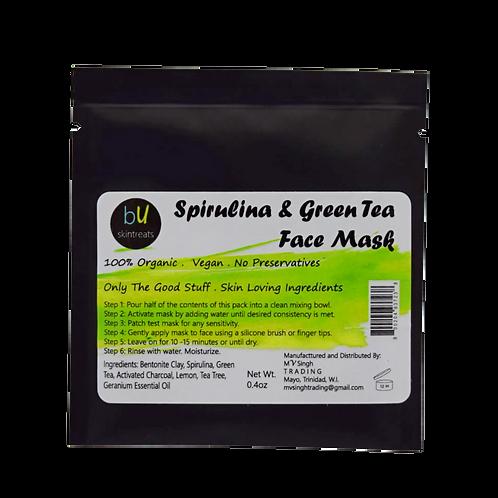 Spirulina and Green Tea Face Mask