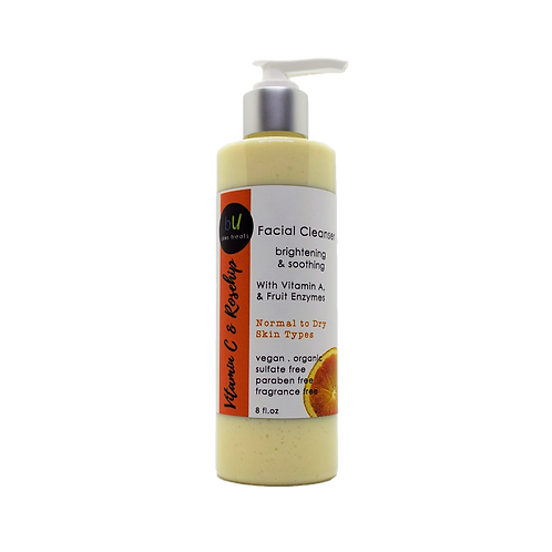 Vitamin C and Rosehip Brightening and Soothing Facial Cleanser