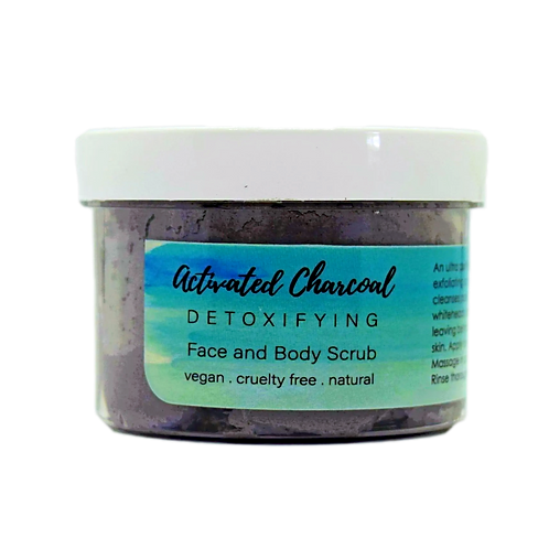 Activated Charcoal Whipped Facial Scrub