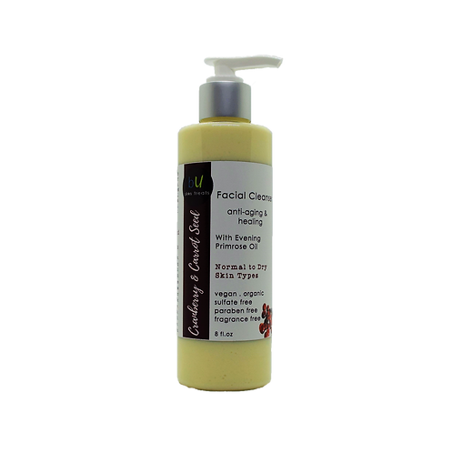 Cranberry and Carrot Seed Anti-Aging Facial Cleanser