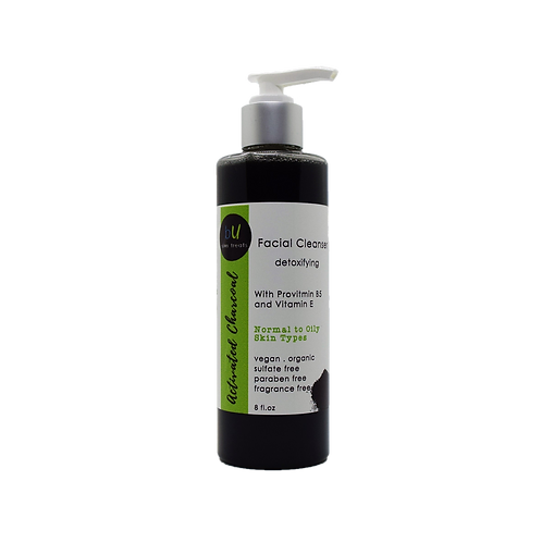 Activated Charcoal Detoxifying Facial Cleanser