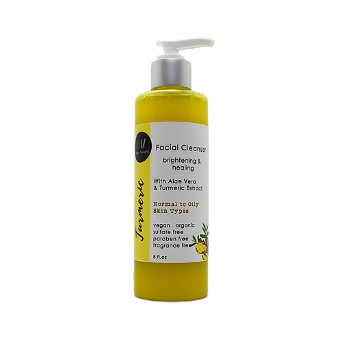 Turmeric Brightening and Healing Facial Cleanser
