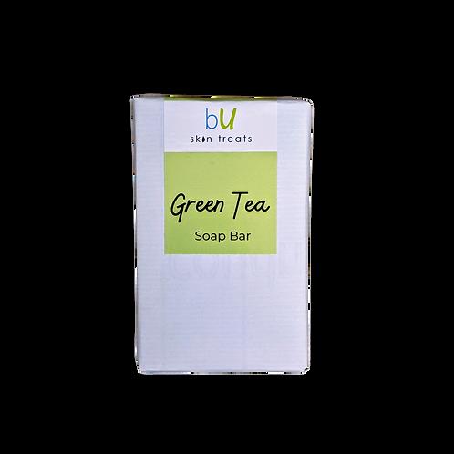 Green Tea Cold Process Soap Bar