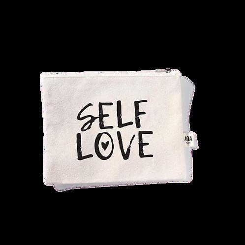 Self Love Canvas Pouch