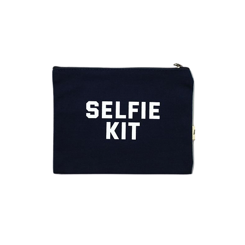 Selfie Kit Canvas Pouch