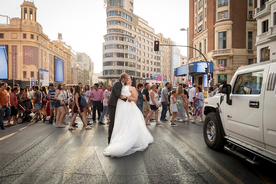 Postboda en Madrid