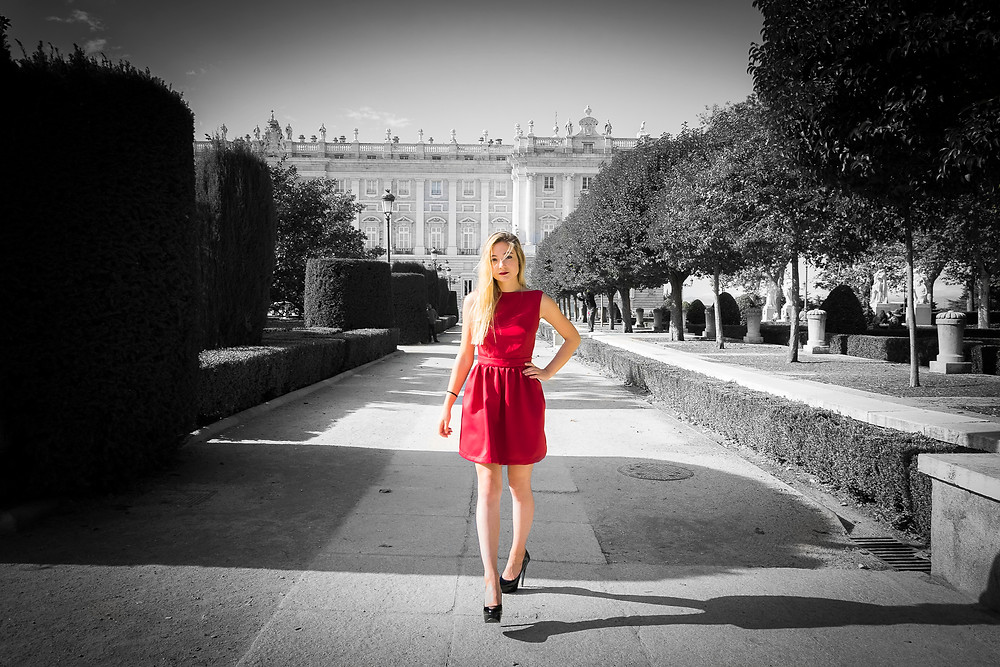 sesion fotografica en Palacio Real
