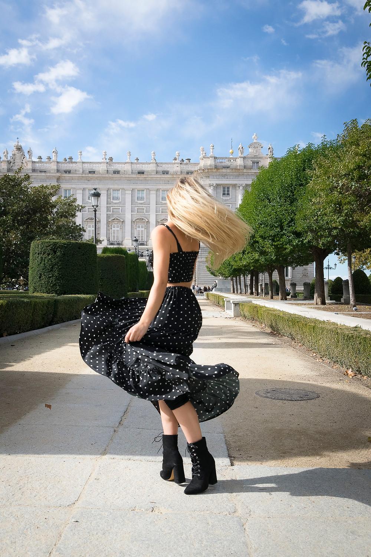 sesion fotografica en el Palacio Real