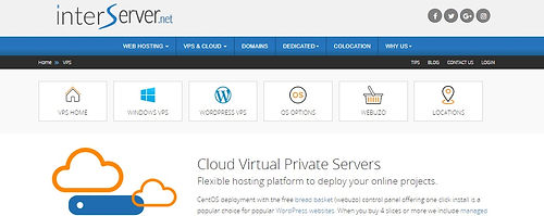 Interserver Cloud Virtual Private Servers