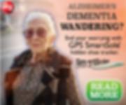 Alzheimer gps for seniors wit alzheimer, smartSole