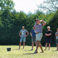 Golf auf 9-Loch-Übungsgolfplatz - Les Ca.