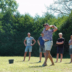Golfen op 9 hols oefen golfbaan - Les Ca