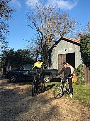 Eerste mountainbike rit van 2021 - Les C
