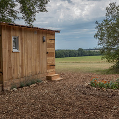 Prive sanitair Safaritent - Les Cabanes
