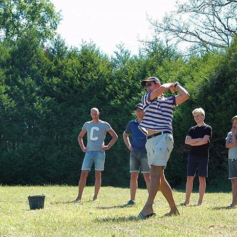 Golfen im Park macht so viel Spaß! ⛳️ #