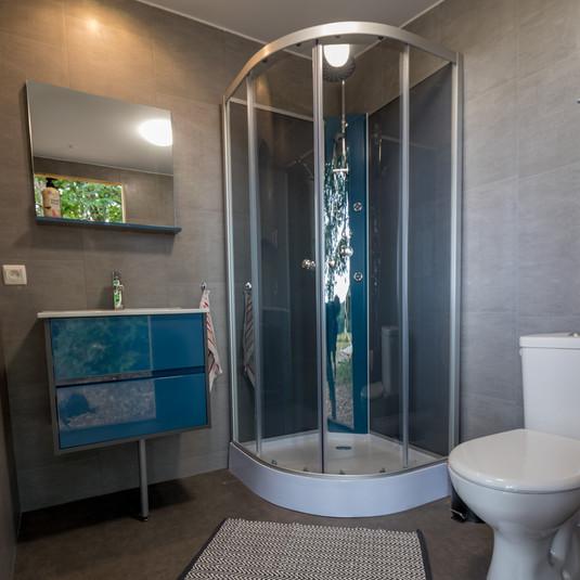 Private Sanitärzelte - Les Cabanes de R.