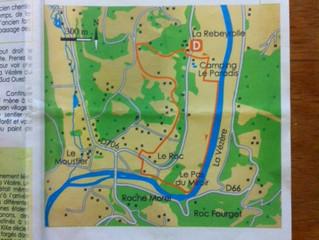 Wandeling 5 km start Saint-Léon-sur-Vézère