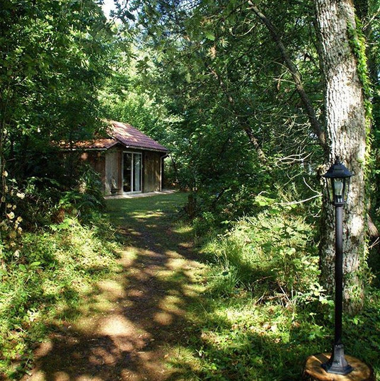 La Cabane au Bois 🌳🍃 #nature #natuurhu