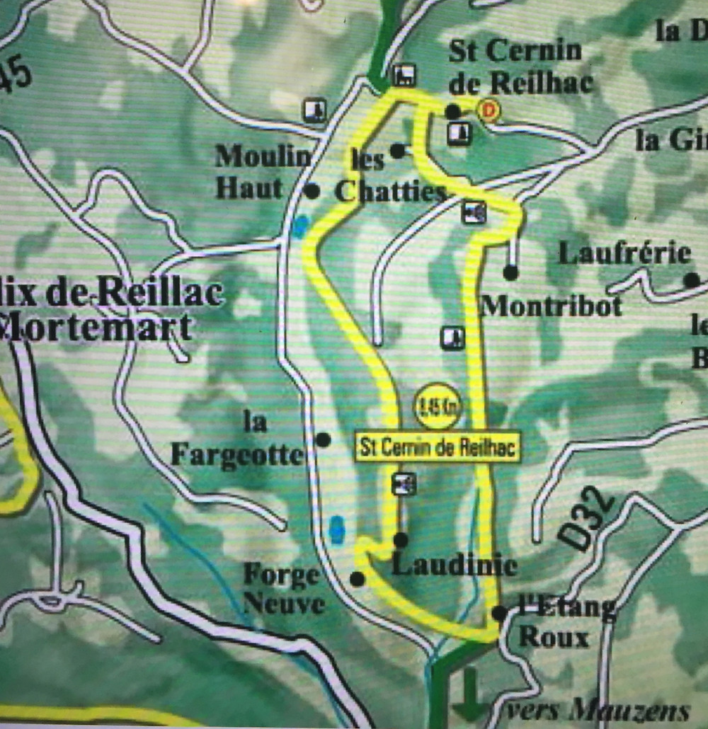 Wandeling Rouffignac-Saint-Cernin-de-Reilhac