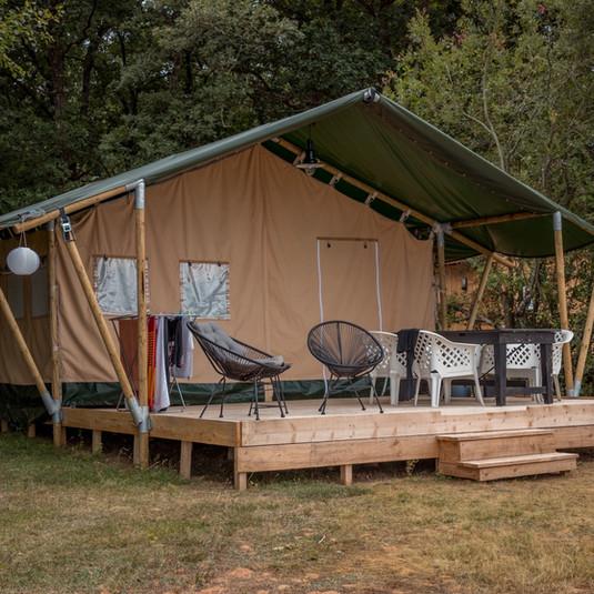 Safari-Zelt La Vallee - Les Cabanes de Ro
