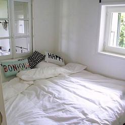 Slaapkamer Gite au Lac - Les Cabanes de Rouffignac