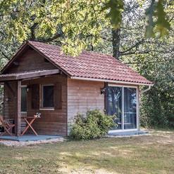 Cabane au Lac 🌲💦☀️ #cabane #cabanes #h