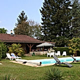 Maison avec piscine tuin