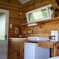 La cuisine dans le Cabane au Lac 🍴🥖 #k